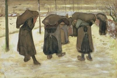 Miners' Wives Carrying Sacks of Coal, 1882