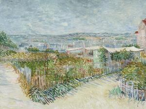 Montmartre: Behind the Moulin De La Galette, 1887 by Vincent van Gogh