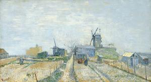 Montmartre: Windmills and Allotments, 1887 by Vincent van Gogh