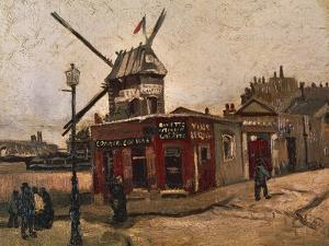 Moulin De La Galette by Vincent van Gogh