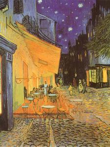 Night Café, 1888 by Vincent van Gogh