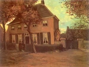 Nuenen Parsonage, 1885 by Vincent van Gogh