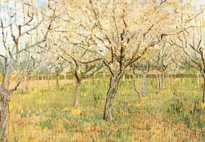 Orchard in Blossom by Vincent van Gogh