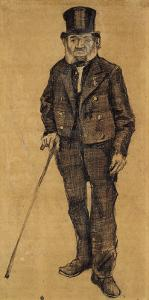 Orphan Man with Top Hat and Stick by Vincent van Gogh