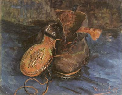 Pair of Boots, 1887 by Vincent van Gogh