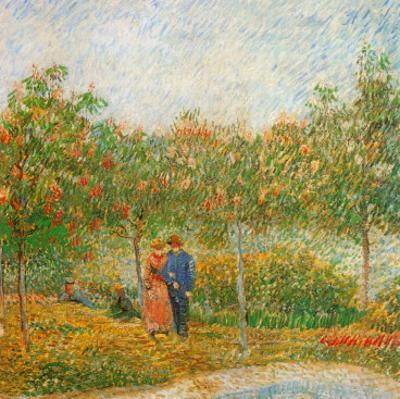 Parc Voyer D'Argenson A Asnieres (Détail 2) by Vincent van Gogh