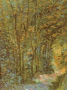 Path in the Woods, 1887 by Vincent van Gogh