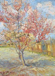 Peach Tree in Bloom at Arles, c.1888 by Vincent van Gogh