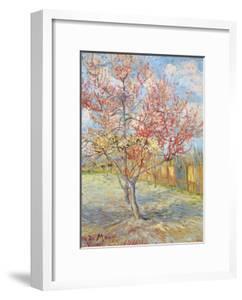 Peach Tree in Bloom at Arles, c.1888 by Vincent van Gogh