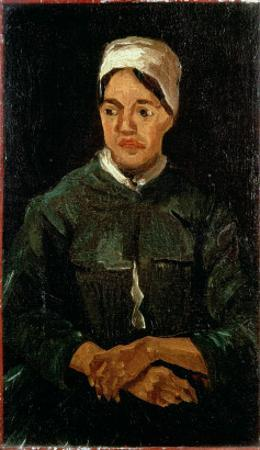 Peasant Woman from Nuenen, 1885 by Vincent van Gogh