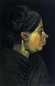 Peasant Woman by Vincent van Gogh