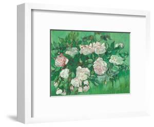 Pink Roses (Rosa Rosen) by Vincent van Gogh