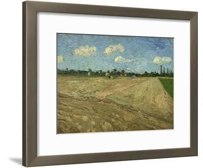 Ploughed Fields (The Furrow), 1888