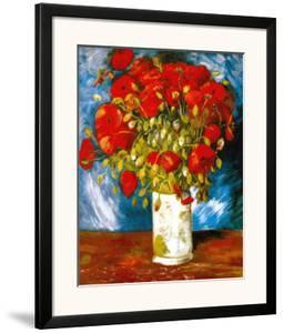 Poppies, c.1886 by Vincent van Gogh