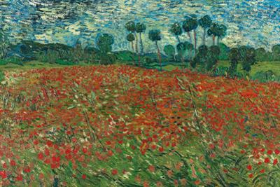 Poppy Field, 1890 by Vincent van Gogh