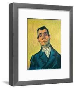 Portrait of a man (1889-1890). Cat. No. 254. by VINCENT VAN GOGH