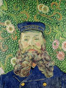 Portrait of the Postman Joseph Roulin, c.1889 by Vincent van Gogh
