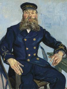 Postman Joseph Roulin by Vincent van Gogh
