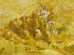 Quinces, Lemons, Pears and Grapes by Vincent van Gogh