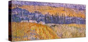 Rainy Landscape, 1890 by Vincent van Gogh