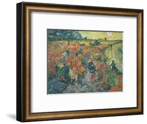 Red Vineyards at Arles, 1888 by Vincent van Gogh