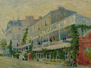 Restaurant de La Sirene at Asnieres, c.1887 by Vincent van Gogh