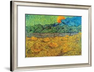 Rising Moon by Vincent van Gogh