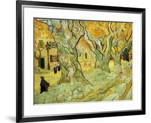 Roadworks At Saint-rémy, 1889 by Vincent van Gogh