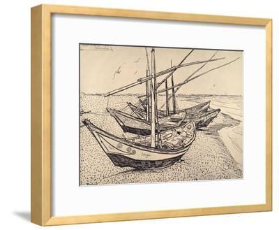 Sailing Boats in Saintes-Maries, 1888