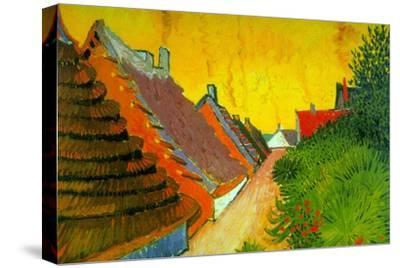 Saintes-Maries Road Through The Town