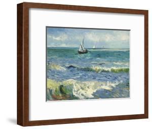 Seascape Near Les Saintes-Maries-De-La-Mer by Vincent van Gogh