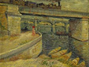 Seine Bridge Near Asnieres, 1887 by Vincent van Gogh