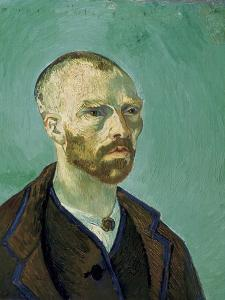 Self-Portrait Dedicated to Paul Gauguin by Vincent van Gogh