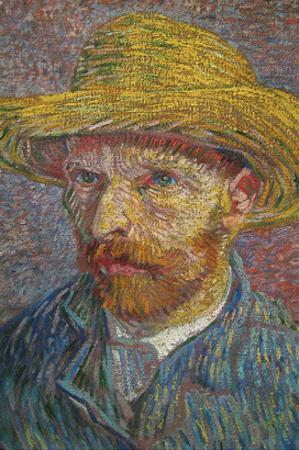 Self Portrait of Van Gogh by Vincent van Gogh