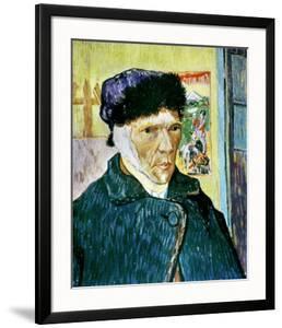 Self-Portrait with Bandaged Ear, c.1889 by Vincent van Gogh