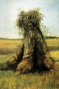 Sheaves Bundled High in a Field by Vincent van Gogh