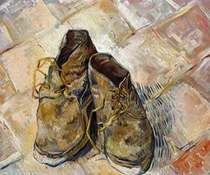 Shoes by Vincent van Gogh