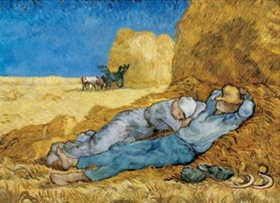 Siesta by Vincent van Gogh