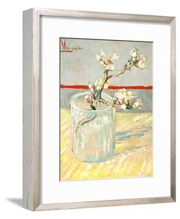 Sprig of Flowering Almond Blossom in a Glass, 1888