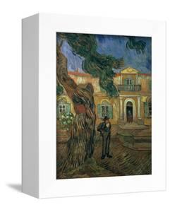 St. Paul's Hospital, St Remy, 1889 by Vincent van Gogh