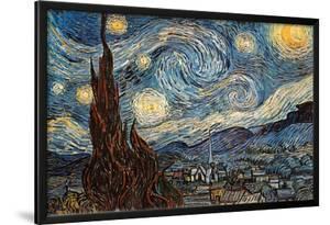 Starry Night, c. 1889 by Vincent van Gogh