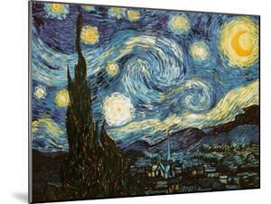 Starry Night, c.1889 by Vincent van Gogh
