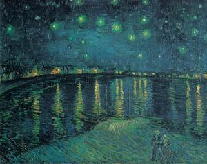 Starry Night on the Rhone by Vincent Van Gogh