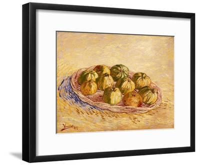 Still Life, Basket of Apples, Autumn 1887