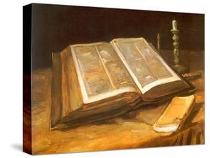 Still Life with Bible, 1885 by Vincent van Gogh