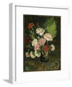 Still life with Carnations, 1886 by Vincent Van Gogh