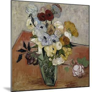 Still-Life with Japanese Vase, c.1890 by Vincent van Gogh
