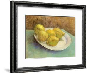 Still Life with Lemons on a Plate, 1887 by Vincent van Gogh