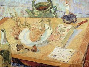 Still Life with Onions, 1889 by Vincent van Gogh