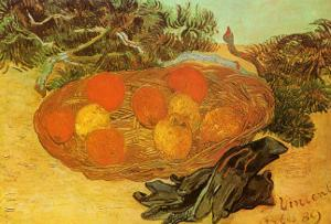Still Life with Oranges by Vincent van Gogh